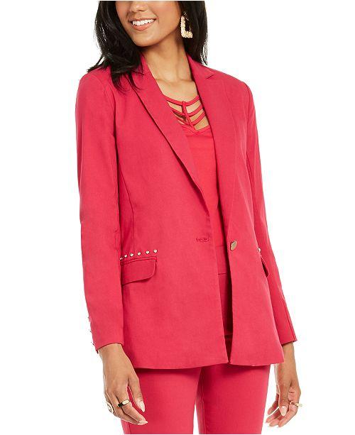 Thalia Sodi Studded-Pocket Blazer, Created for Macy's