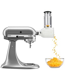 Value Bundle Artisan Series 5-Qt. Tilt-Head Stand Mixer & Fresh Prep Slicer/Shredder Attachment KSM150FB, Created for Macys