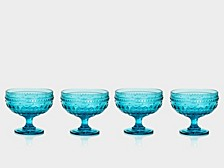 Fez Footed Compote Glasses, Set of 4