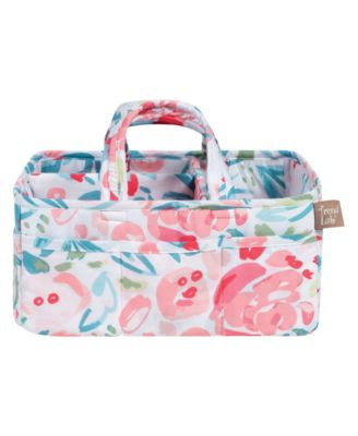Painterly Floral Storage Caddy