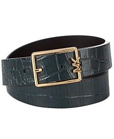 Michael Michael Kors Reversible MK-Buckle Belt