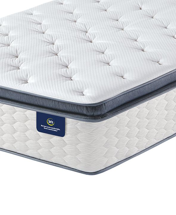 "Serta Special Edition II 14.5"" Super Pillow Top Plush Mattress- Twin"