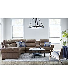 Josephia Leather Sectional Collection
