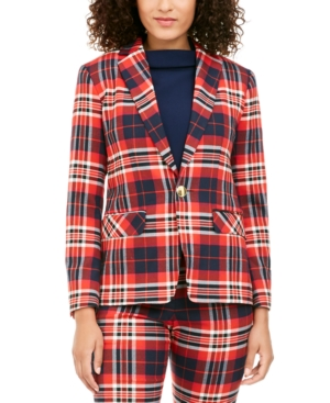 Trina Turk Jackets HABANERO PLAID JACKET
