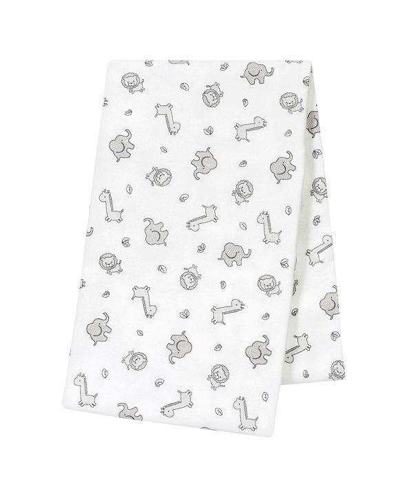 Trend Lab Chevron Safari Oversize Flannel Swaddle Blanket