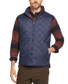 Weatherproof Vintage Men's Diamond Quilted Vest