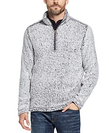 Men's Quarter-Zip Frosted Fleece Pullover