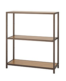 3-Tier Bamboo Shelving Rack