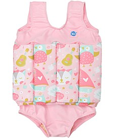 Toddler Girl's Floatsuit
