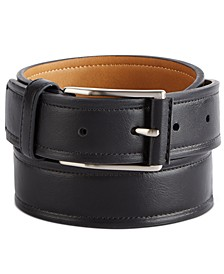 Men's Beveled-Edge Belt, Created For Macy's