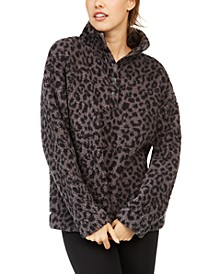 Faux Sherpa Cozy Pullover, Created for Macy's