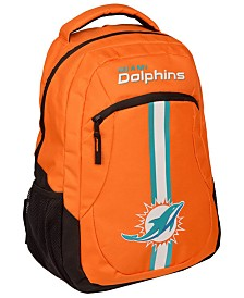 Forever Collectibles Miami Dolphins Action Backpack