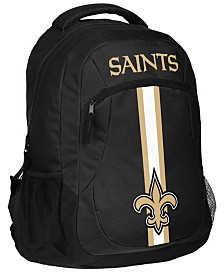 Forever Collectibles New Orleans Saints Action Backpack