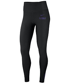 Nike Women's LSU Tigers Power Sculpt Leggings
