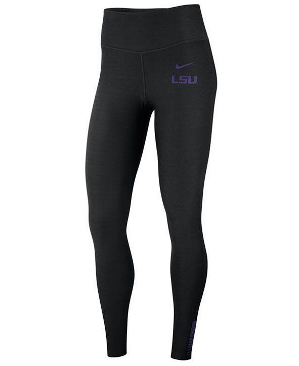 Nike Women's LSU Tigers Power Sculpt Leggings