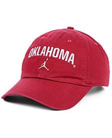 Oklahoma Sooners Heritage 86 Wordmark Swoosh Strapback Cap