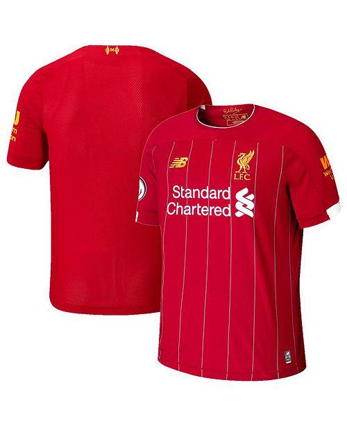 New Balance Big Boys Liverpool FC Home Stadium Jersey