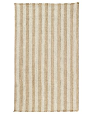 Area Rug, Hampton Flatweave 0404-760 Shingle Stripe 8' x 11'