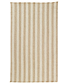 Capel Rugs, Hampton Flatweave 0404-760 Shingle Stripe