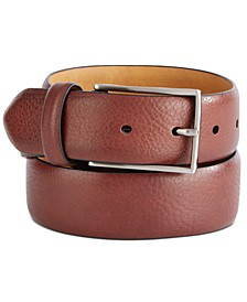 Men's Textured Belt, Created For Macy's