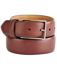 Men's Textured Belt, Created For Macy's