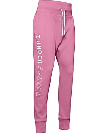 Under Armour Big Girls Unstoppable Fleece Pants