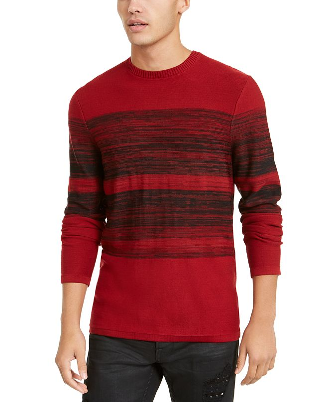 GUESS Men's Space Dyed Sweater
