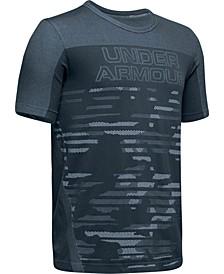Big Boys Colorblocked Seamless Logo-Print T-Shirt