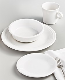 White 4-Piece Place Setting