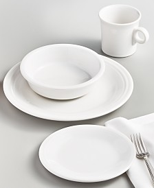 Fiesta White 4-Piece Place Setting