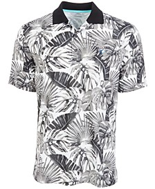 Men's Tropical-Print Polo
