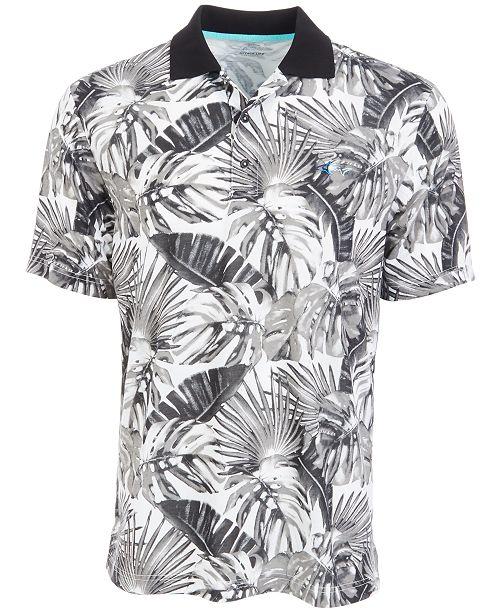 Greg Norman Men's Tropical-Print Polo