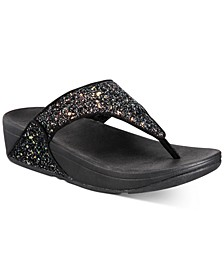 Women's Lulu Glitter Toe-Thongs Sandal