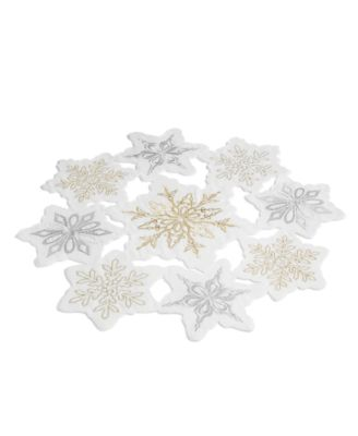 CLOSEOUT! Winter Dream Cutwork Embroidery Placemat