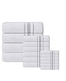 Enchante Home Turkish Cotton 16-Pc. Towel Set