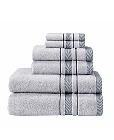 Enchante Home Turkish Cotton 6-Pc. Towel Set