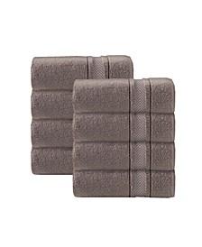 Enchante Home Turkish Cotton 8-Pc. Wash Towel Set
