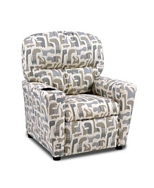 Kangaroo Trading Co. Kid's Recliner with Cupholder - Giant Life, Lead