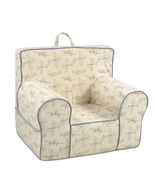Kangaroo Trading Co. Classic Kid's Grab-N-Go Chair, Vintage-Inspired Flyer Lead with Capstone Flint