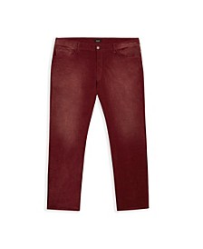MVP Collections Men's Big & Tall Stretch Corduroy Jeans