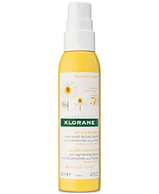 Sun Lightening Spray With Chamomile & Honey, 4.2-oz.