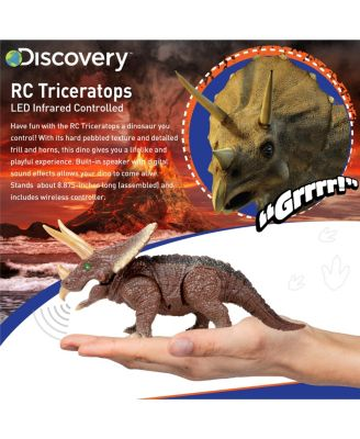 Discovery Kids Toy Rc Triceratops - Dinosaur Toy