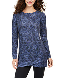Ideology Python Printed Tunic, Created for Macy's