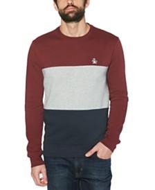 Original Penguin Men's Colorblock Fleece Sweater