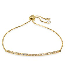 Pavé Bar Slider Bracelet