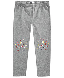 Toddler Girls Multicolored Heart Leggings, Created for Macy's