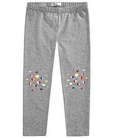 Little Girls Heart Leggings, Created for Macy's