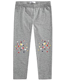 Epic Threads Toddler Girls Multicolored Heart Leggings, Created for Macy's