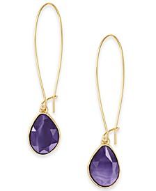 Stone Linear Drop Earrings, Created for Macy's