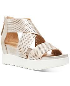 Klein Wedge Sandals